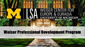 Weiser Professional Development Fellowships